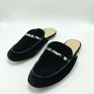 Marc Fisher Mules Suede Studded Black (SH57)